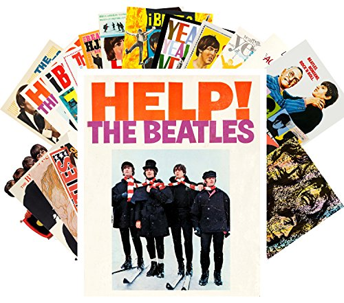 Postcard Set 24pcs The Beatles Vintage Posters Movies Covers Comic (Beatles Poster Card)