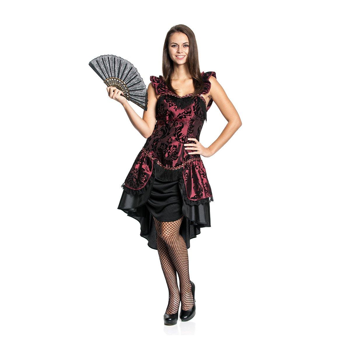 Kostümplanet Saloon Girl Kostüm Deluxe Damen Kleid Wilder-Westen ...