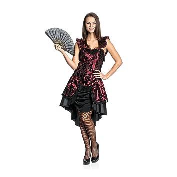 Kostumplanet Saloon Girl Kostum Deluxe Damen Kleid Wilder Westen