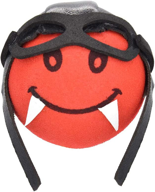 Red COGEEK Car Antenna Topper Cute Pilot Foam Antenna Ball