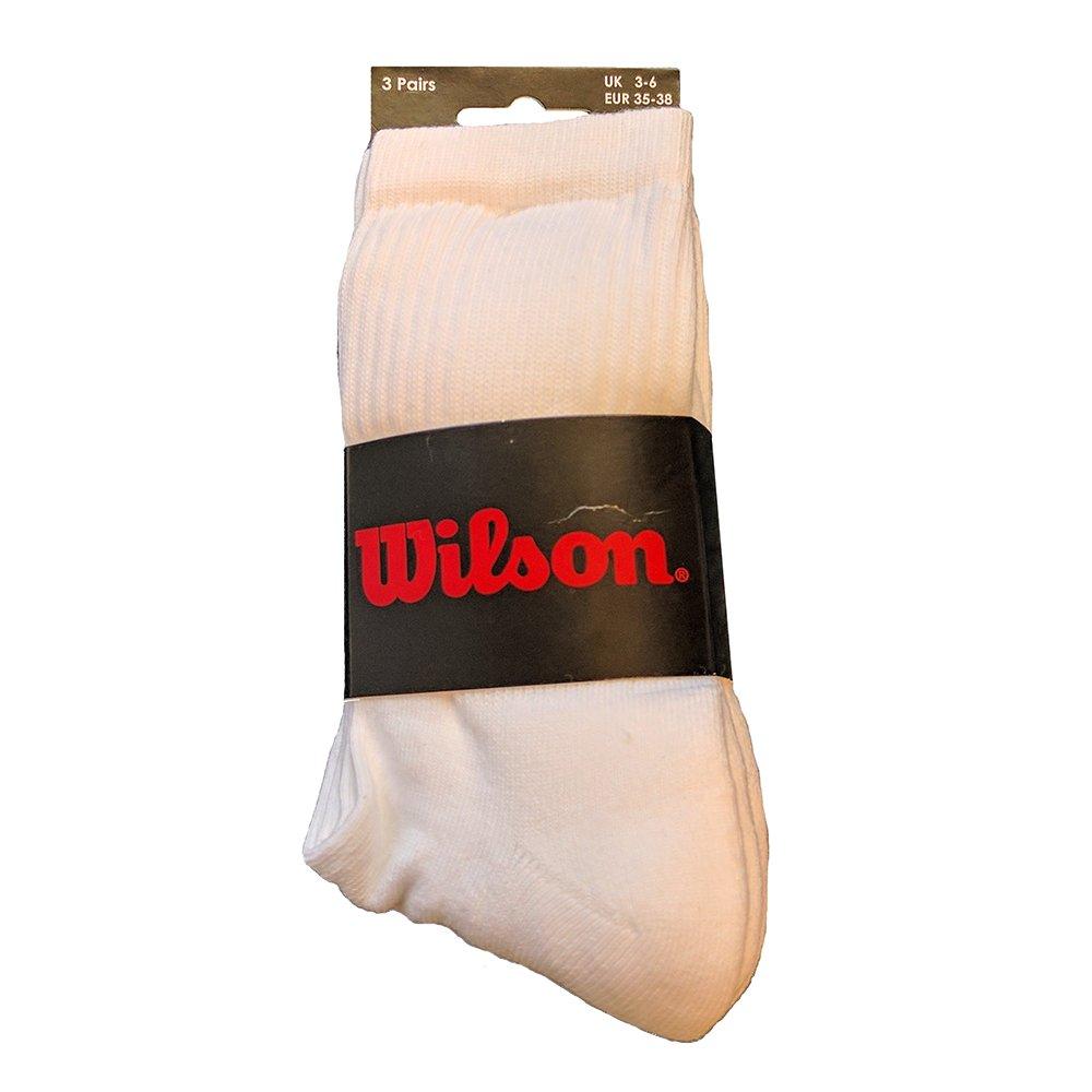 Wilson chico blanco integrón - 3 unidades: Amazon.es: Deportes y ...