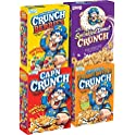4-Count Cap'N Crunch Breakfast Cereal Variety Pack