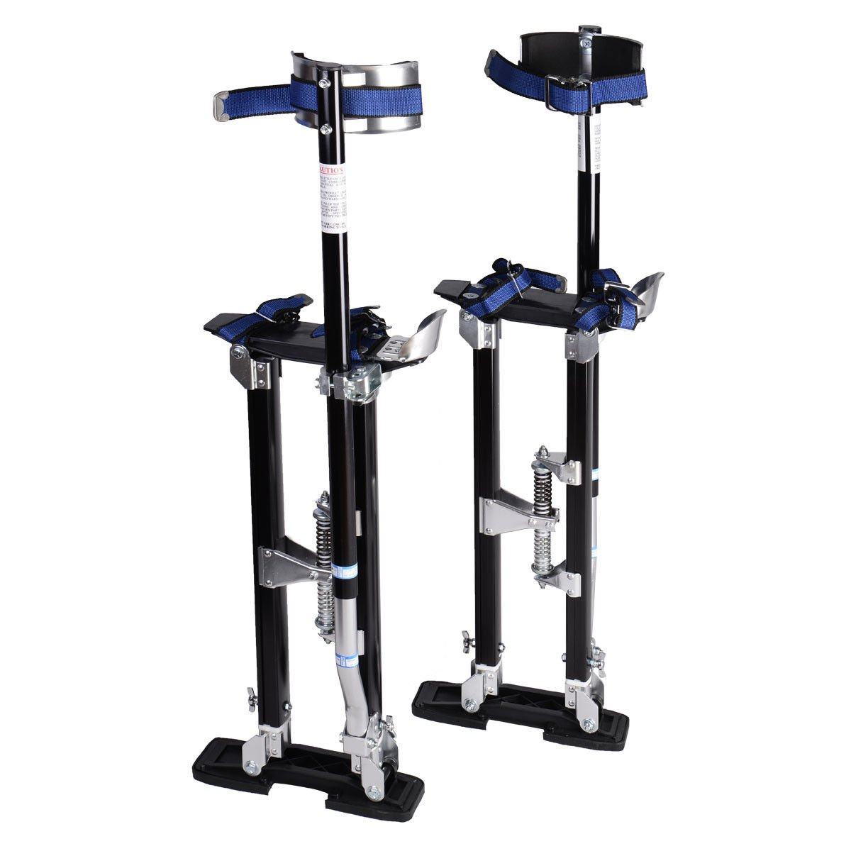 24-40 Inch Drywall Stilts Adjustable Aluminum Stilt Walking Painting Dura Taping Painter Tools by FrankMind (Image #3)