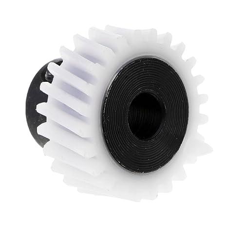 Sharplace 1pc De Aleación De Plástico De La Práctica del Engranaje del Eje De Transmisión De