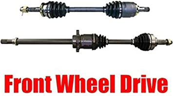 TRQ Front CV C//V Axle Shaft Assembly Kit New Left /& Right Pair 2 Piece Set for 2009-2014 Nissan Murano Front Wheel Drive Models