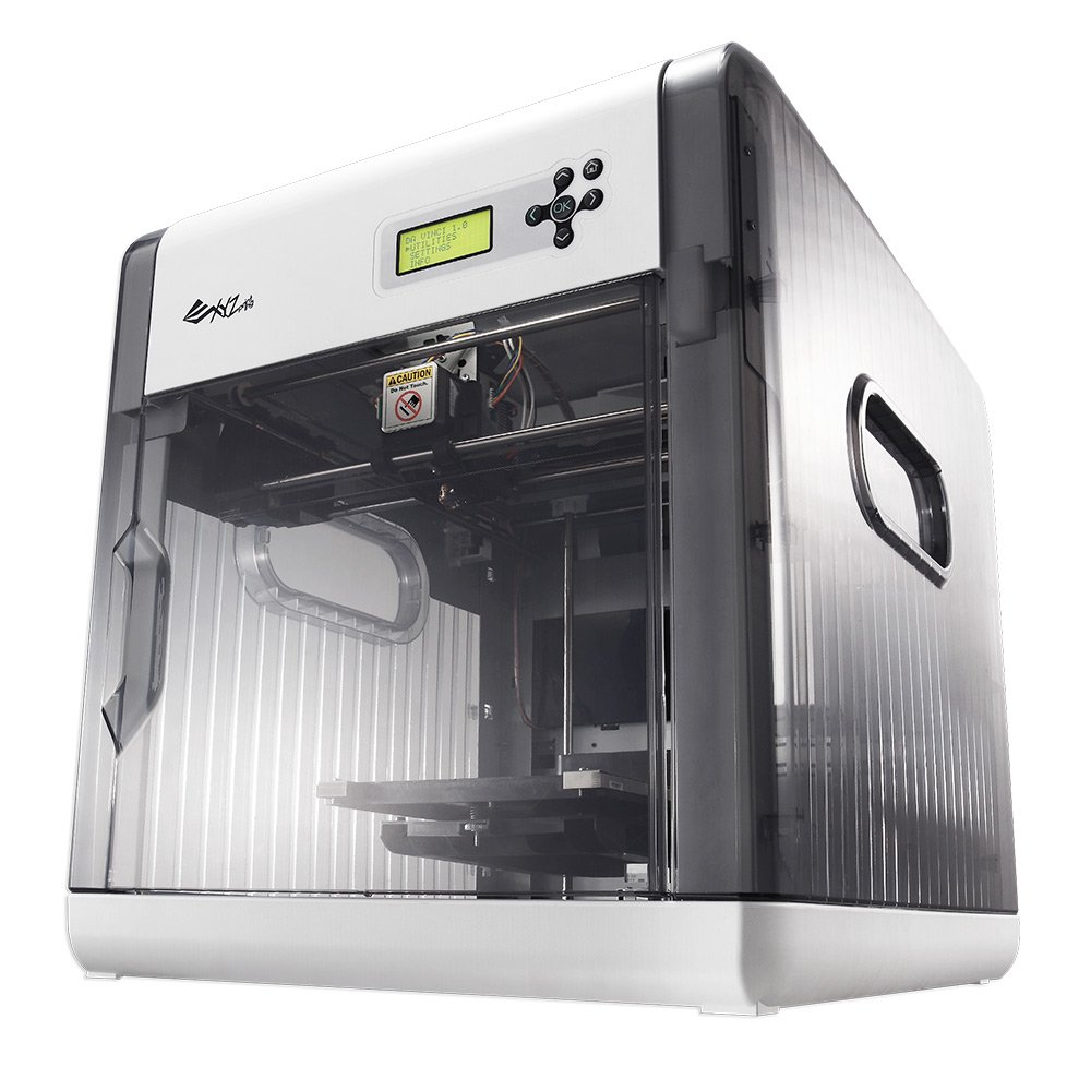 XYZprinting Da Vinci 1.0 3D Printer, Grey: Amazon.com ...