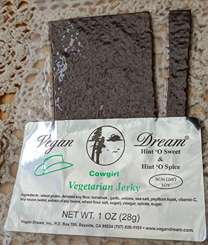 Vegan Dream Jerky - Saucy Cowgirl Flavor, 6 Pack