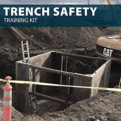 Trench Safety Trenching And Excavation Worker Safety Training Bathtub And Showerhead Faucet Systems Amazon Com