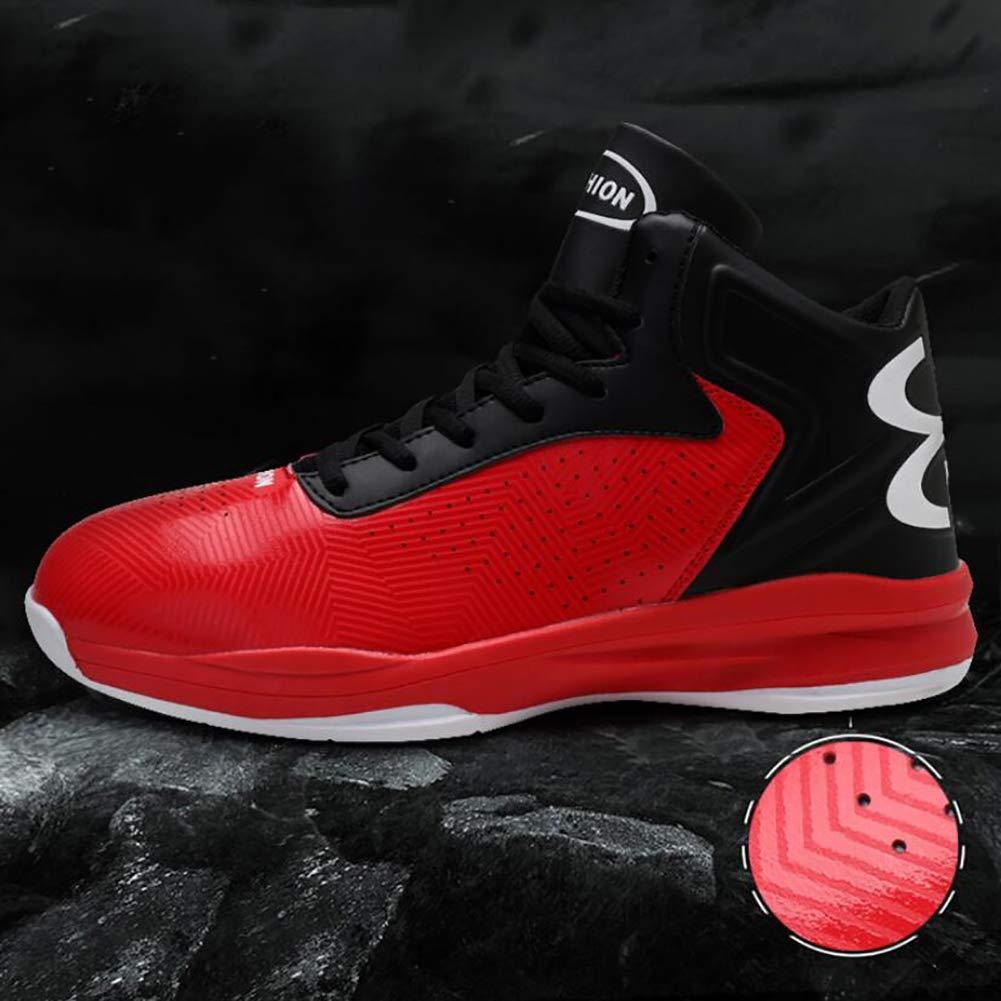 JUANN 2019 nouveaux chaussures de basket-ball pour hommes printemps-automne-baskets montantes de basket-ball antid/érapantes r/ésistantes /à lusure