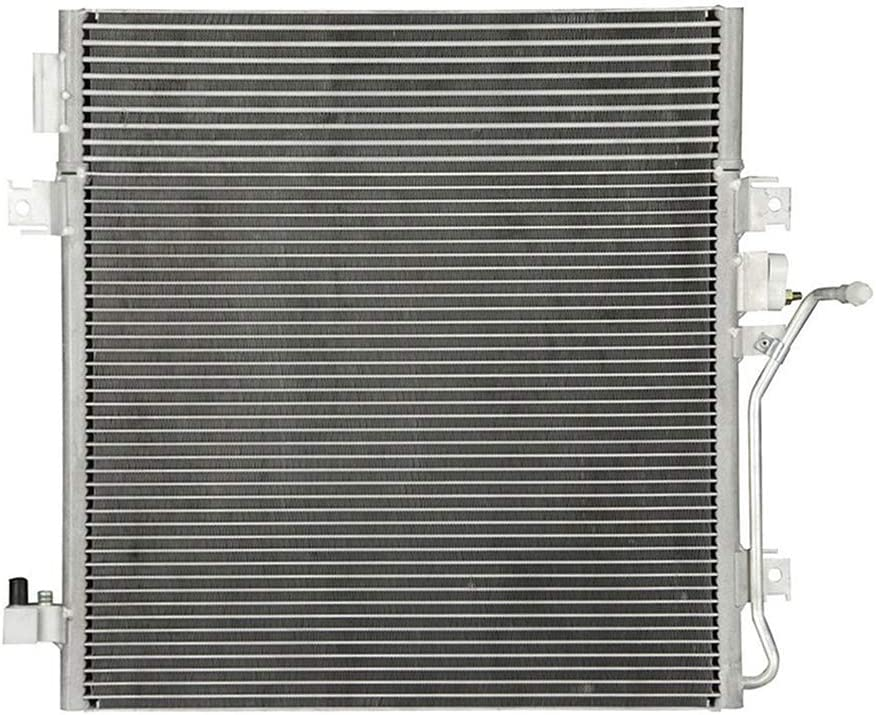 US Stock ZENITHIKE 3664 A//C Condenser Fit for 2007-2011 Dodge Nitro 2008-2012 Jeep Liberty