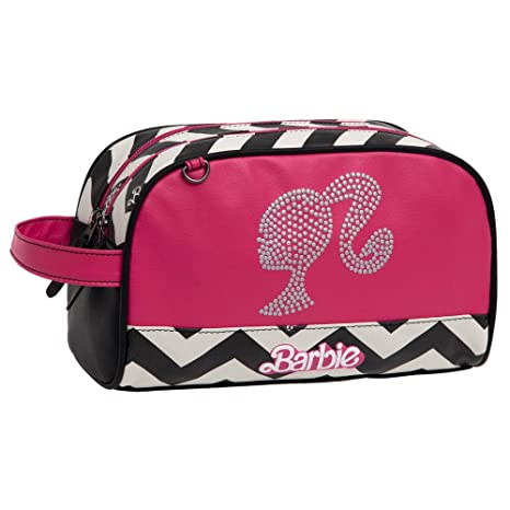 Mattel Barbie Dream Neceser de Viaje, 4.99 litros, Color Rosa