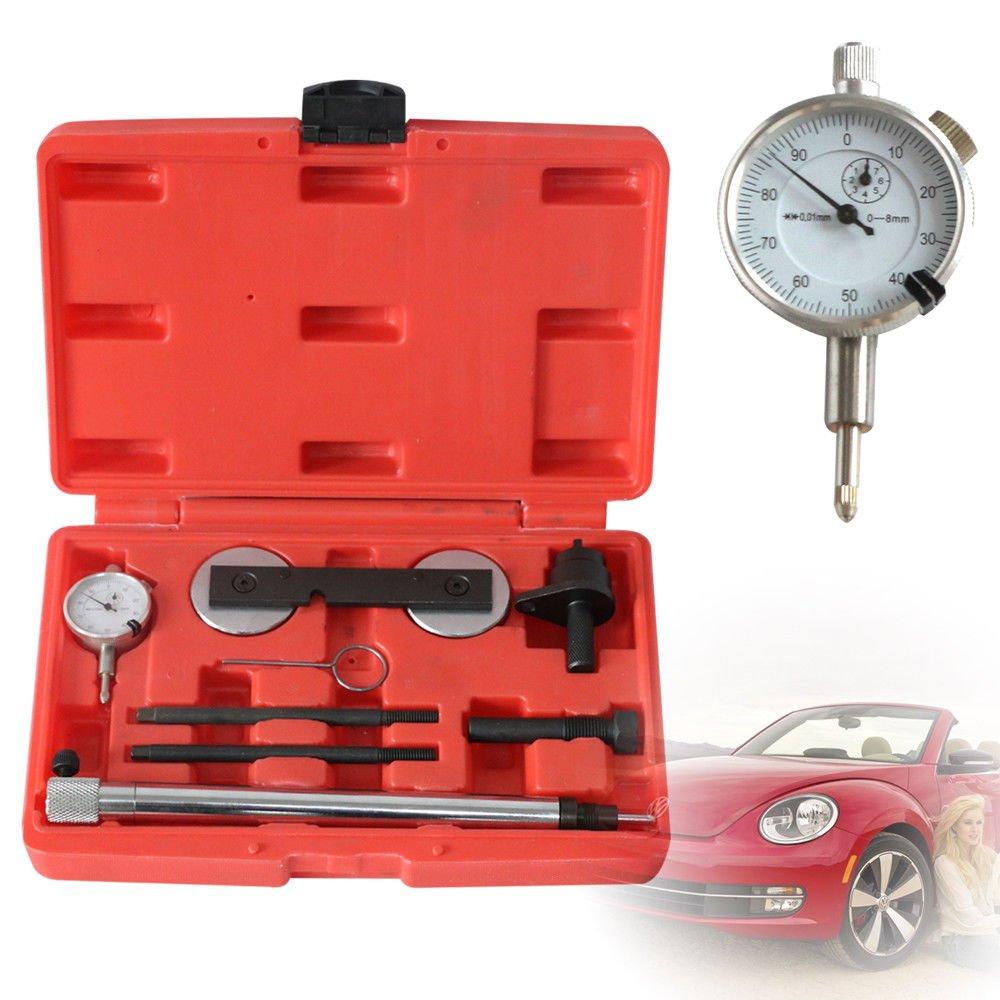 SHIOUCY Juego de Herramientas de Bloqueo de Tiempo para Motores VW Golf AudiVAG 1.2 TSI 1.4 1.6 FSI: Amazon.es: Coche y moto
