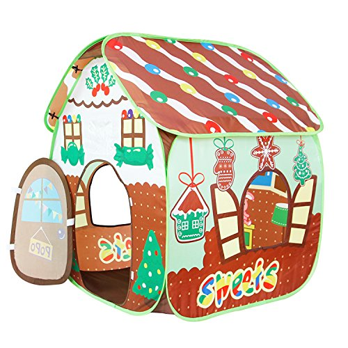 Homfu Indoor Outdoor Playhouse Gingerbread product image