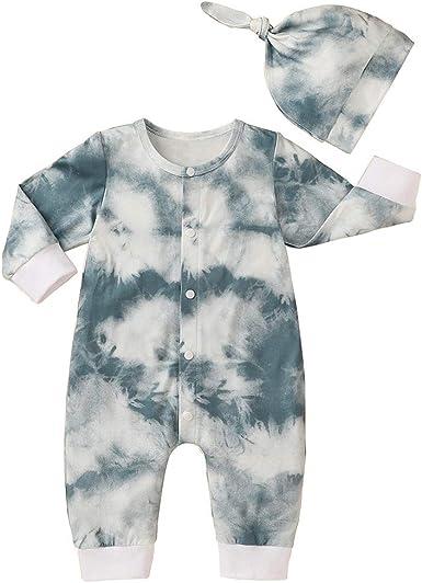 FYMNSI - Juego de pijamas de manga larga para bebé recién ...