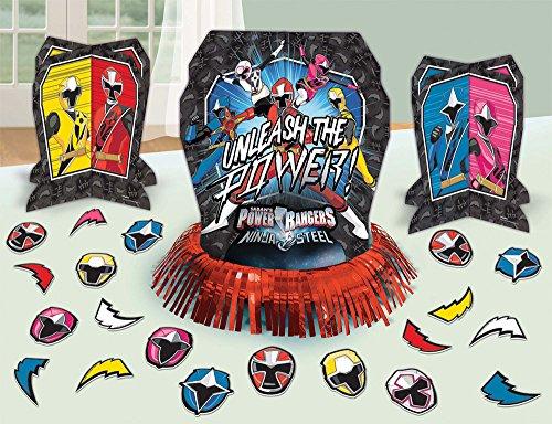 (Power Rangers Ninja Steel™ Table Decorating Kit, Party Favor)