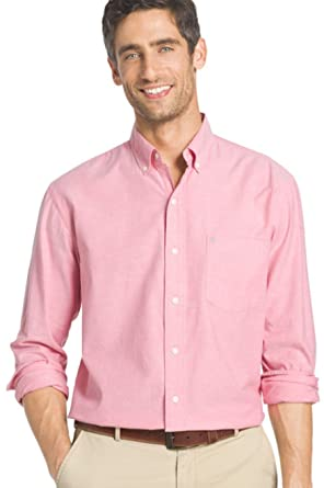 28a25492 Chaps Men's Big & Tall Regular-Fit Stretch-Collar Wrinkle-Free Dress Shirt