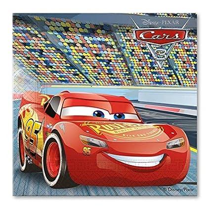DECORATA PARTY Kit 46 f cumpleaños Disney Cars 3