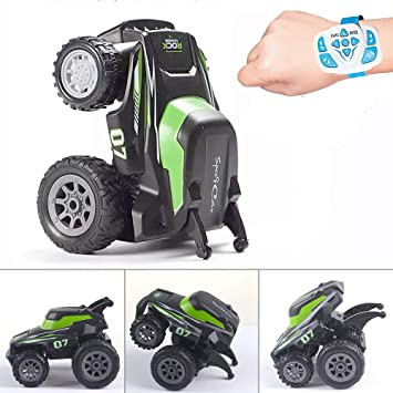Remote Control Car RC Stunt Cars 4WD Rotating Standing Programming for Boys  Grils Kids Toddlers