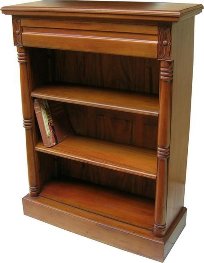Mahagoni massiv Viktorianischer Bücherregal