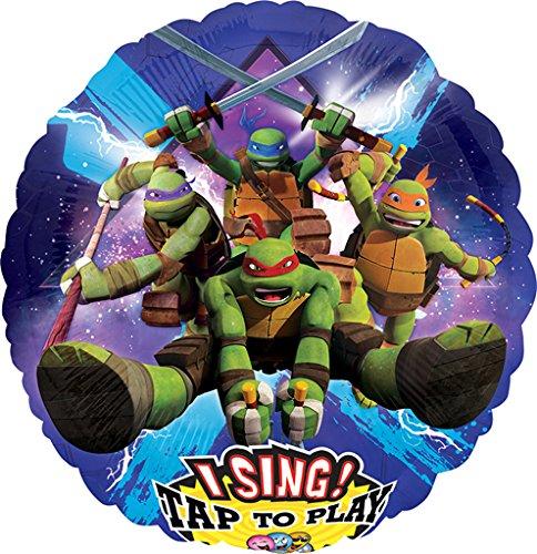 LuftBalloons 28 Inch Teenage Mutant Ninja Turtles Sing A Tune Balloon (Teen Tunes)