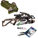 Excalibur Micro 355 Crossbow Package with upgraded TWILIGHT DLX Scope - Case & Bolt Cutter Broadheads