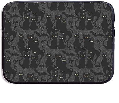 Bolsas para Portátilhalloween Cats Eyes On You Funda para Portátil Funda para Maletín Funda para Macbook Pro/Notebook,Resistente Al Agua,15 Inch/38X29X3.5 CM: Amazon.es: Equipaje