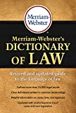 Merriam-Webster's Dictionary of Law, Revised & Updated! (c) 2016