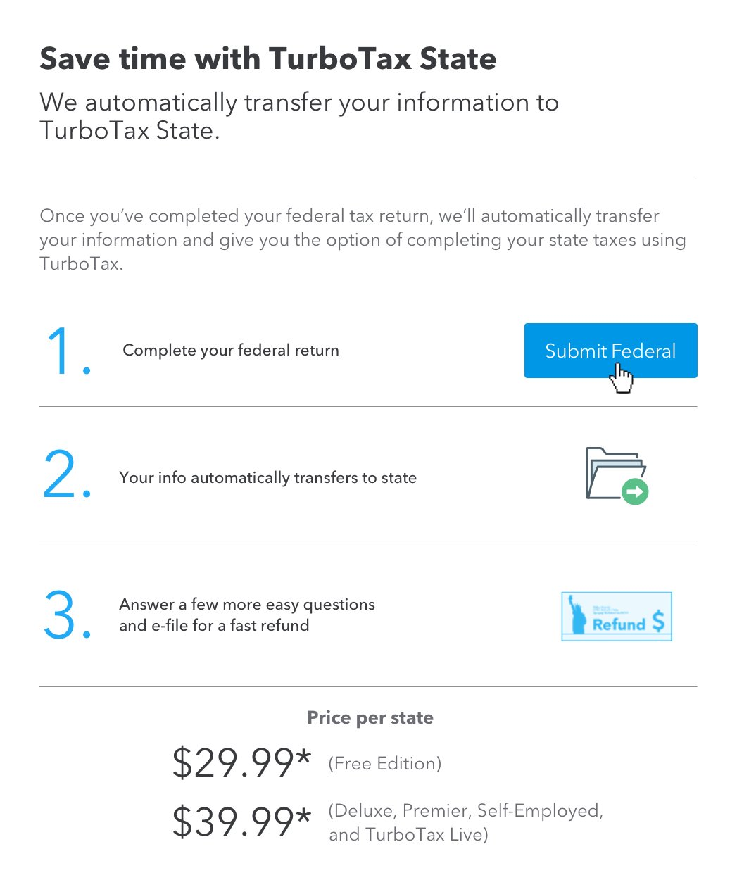 turbotax how to delete state return