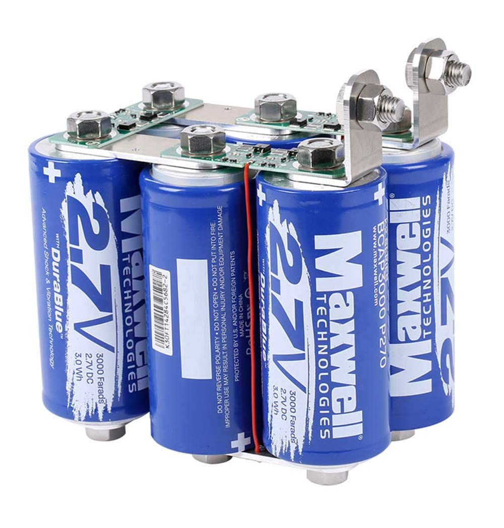Maxwell Durablue 16V 500F Super Capacitor Battery ultracapacitor 1900A Solar Power System Home Audio Power Amplifier