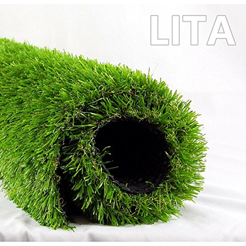 LITA Realistic indoor/outdoor Artificial Grass (7 ft X 13 ft) by LITA