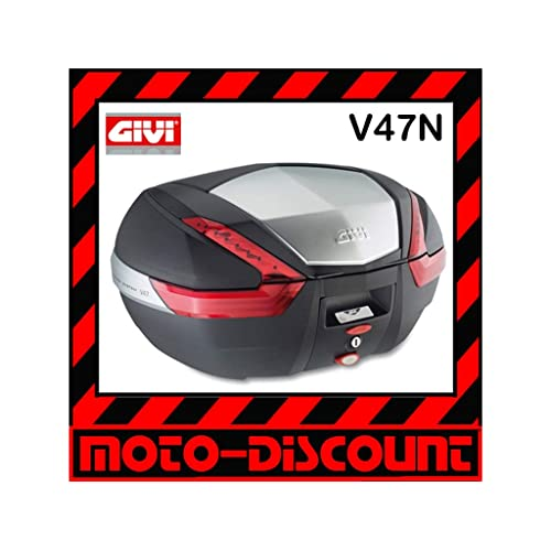Givi V47 Topcase Monokey avec un Diaphragme en Aluminium, 47 L