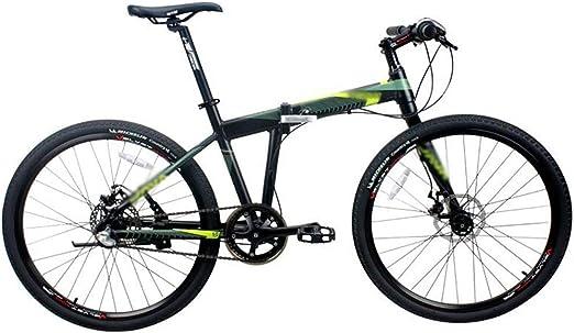 Bicicleta plegable, Montaña Bicicleta plegable de aluminio mujeres ...