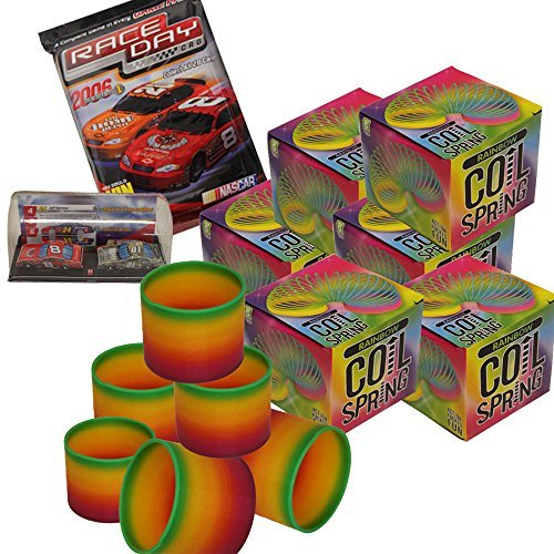 12-pieces-multi-colorful-kids-party-favor-jumbo-3-rainbow-coil-magic-spring-fun-slinky-dozen-bonusra