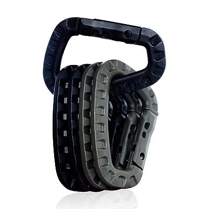 Backpack Carabiner Snap D-Ring Clip Locking Tactical Hiking Camping Tool BO