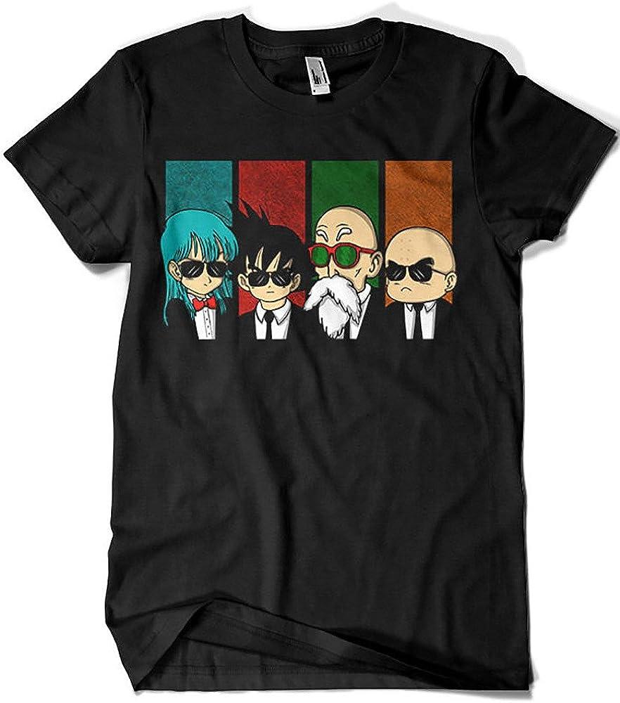 Camisetas La Colmena - 2239-Reservoir Kame -Dragon Ball - Reservoir Dogs (Melonseta)
