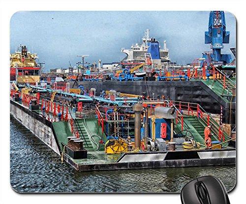Mouse Pad - Rotterdam Netherlands Port Harbor Bay - Usps Netherlands To Shipping