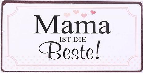 5 Kühlschrankmagnete Set Mama Mutter Magnet im Shabby Style Geschenkidee