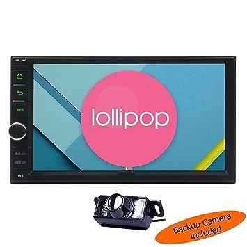 """HD 7 """"Lollipop Android radio est¨¦reo del coche en el tablero"""
