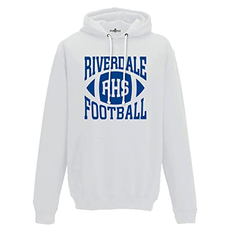 Amazon.com: KiarenzaFD Hoodie Riverdale Archie Andrews Football 9 Stampa Front-Retro TV Series Cult WHI: Sports & Outdoors