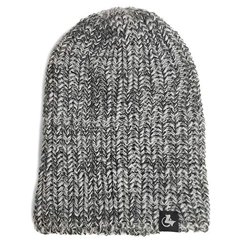 LETHMIK Fishscale Knit Winter Slouchy Beanie Hat,Mens&Womens Thick Warm Knitted Beanie Snow Ski Cap