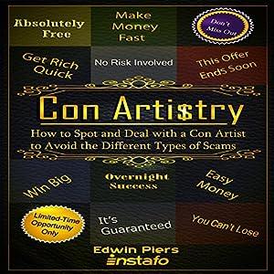 Con Artistry Audiobook