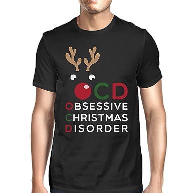 Amazon.com: 365 Printing Obsessive Christmas Disorder X-MAS Cotton ...