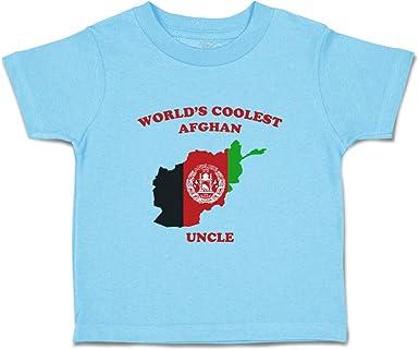 Afghanistan Kid/'s T-Shirt Country Flag Map Top Children Boys Girls Unisex Afghan