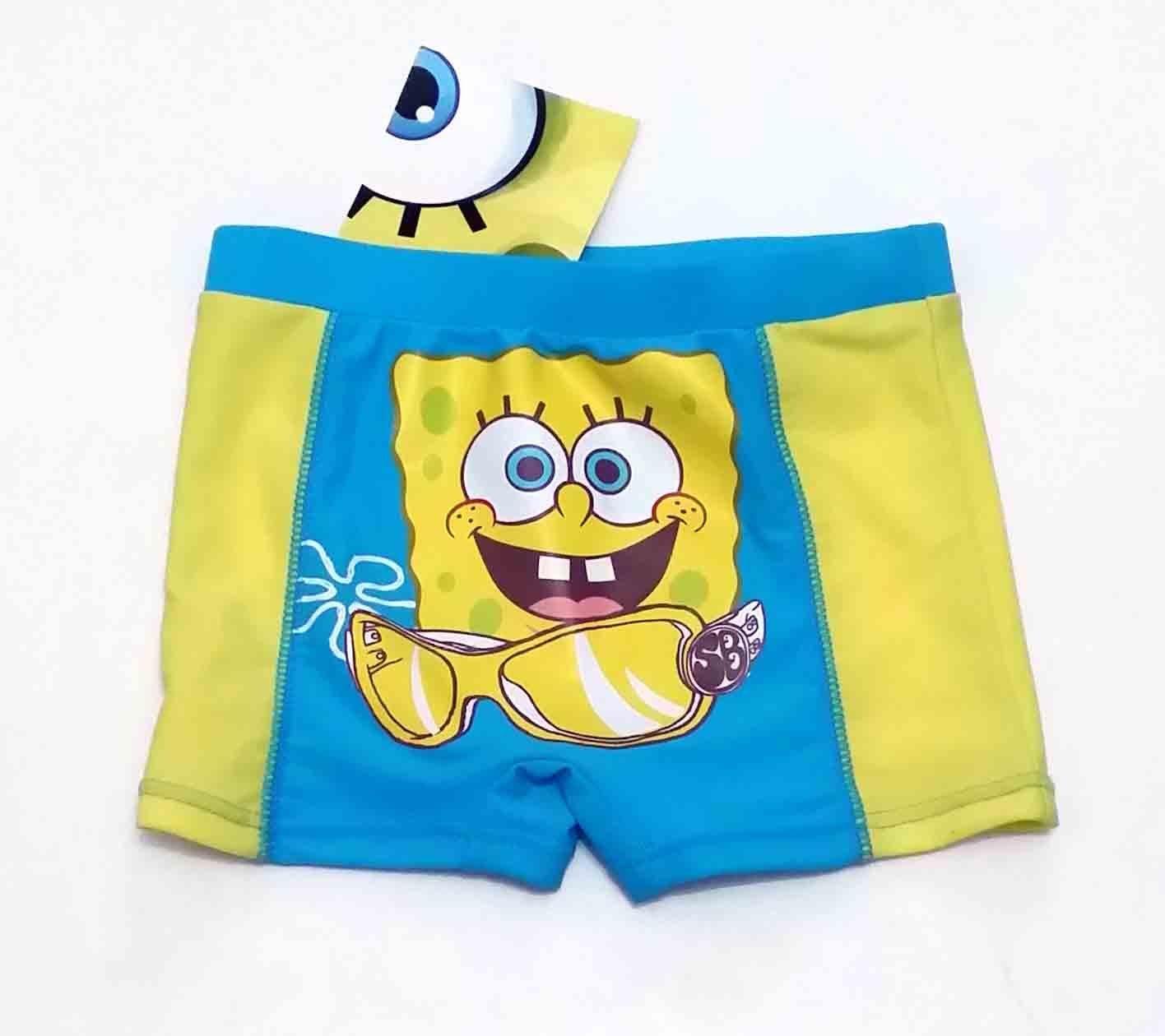 Disfraz Verano Parigamba niño Disney Bob Esponja Amarillo 4 años ...