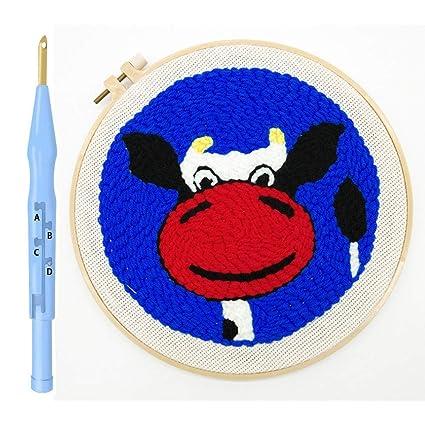 Arts, Crafts & Sewing Punch Needle Supplies ghdonat.com Magic ...