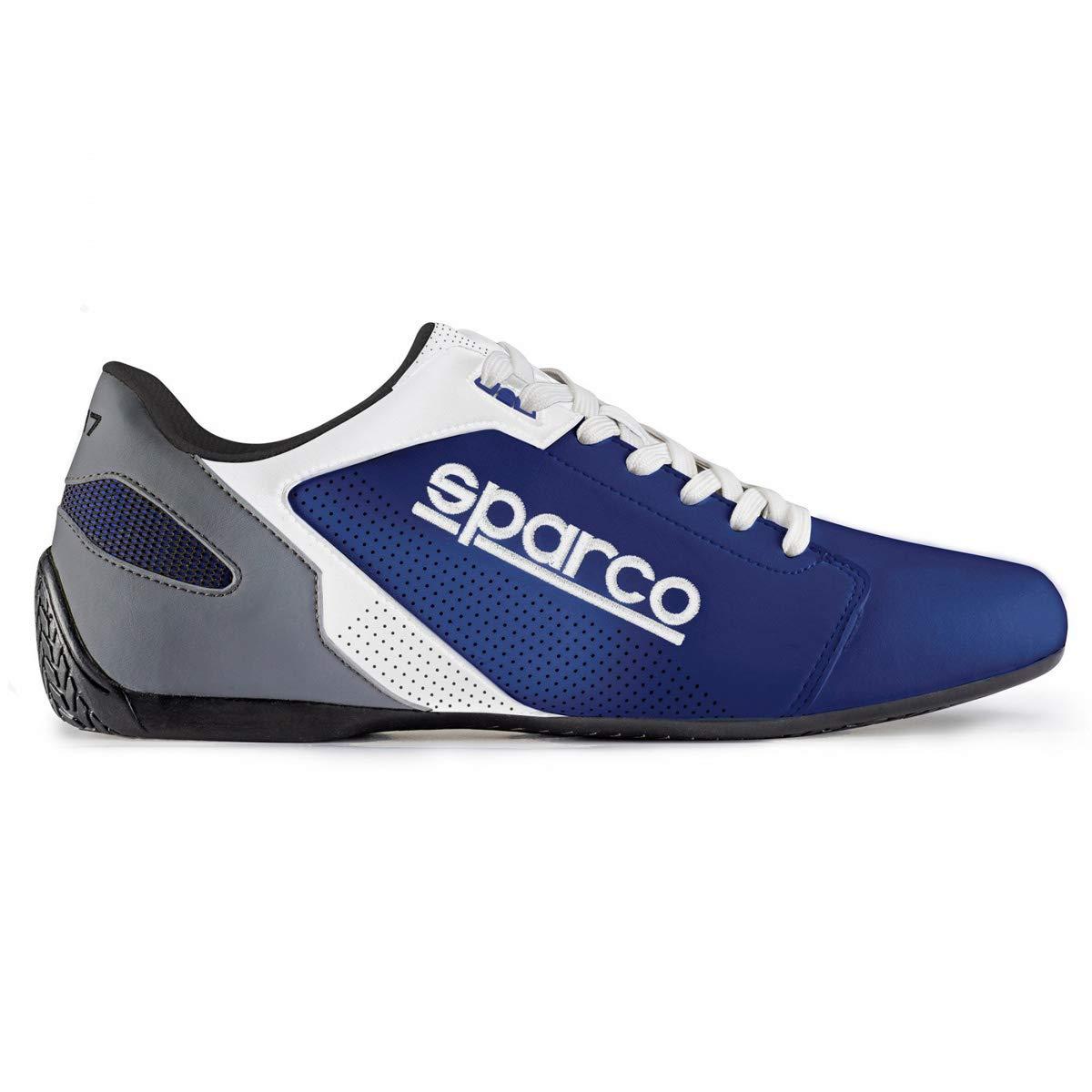 Sparco S00126345AZBI Zapatillas SL-17 Talla 45 Azul Blanco: Amazon.es: Coche y moto