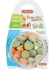 Zolux - Friandises Crunchy Pearls à la Carotte et Persil pour Rongeur - 63g