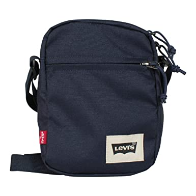 40e8626058c Levi s Unisex Mini Crossbody Bag Solid navy blue  Amazon.co.uk  Clothing
