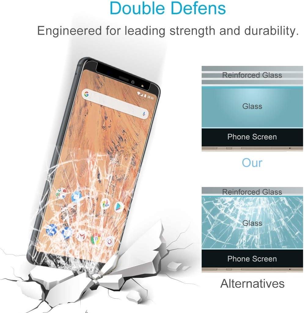 Aquaris X2 Pro Glass Film DESHENG Clear Screen Protector 50 PCS 0.26mm 9H 2.5D Tempered Glass Film for BQ Aquaris X2