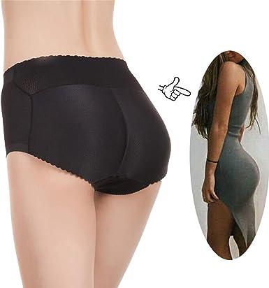 Women Body Shaper Briefs Padded Butt Lifter Panty  Enhancer Push-Up Booster Shap